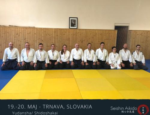 Bili smo: Trnava 2018. godine Yudansha/ Shidoshakai sa Quaranta shihanom