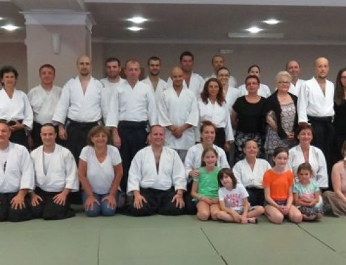 Bili smo: Ohrid – Quaranta shihan 6.Dan – aikido letnja škola